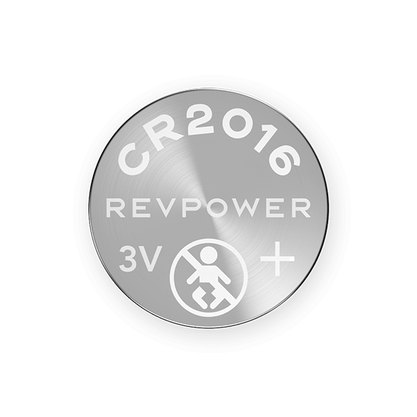 REVPOWER CR2016 LITHIUM COIN BATTERY