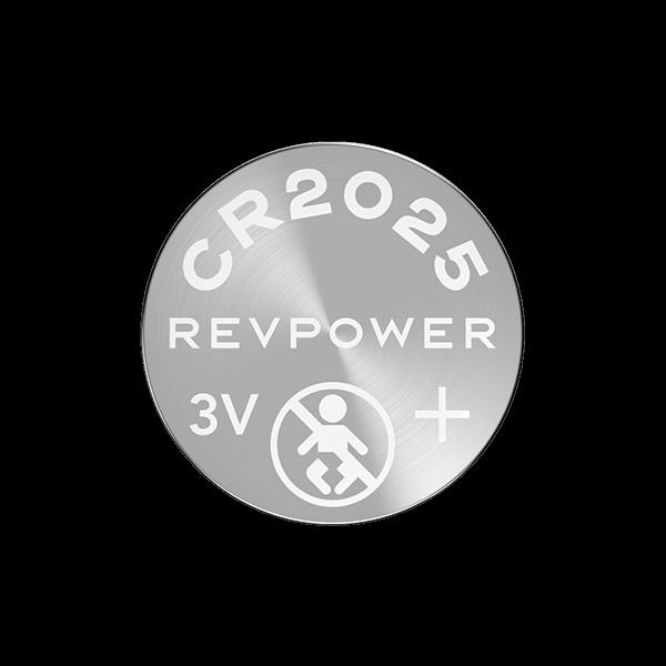 REVPOWER CR2025 LITHIUM COIN BATTERY