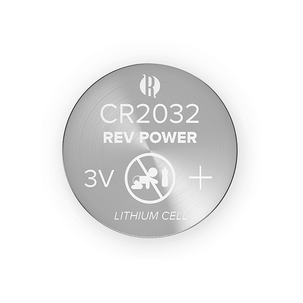 REVPOWER CR2032 LITHIUM COIN BATTERY